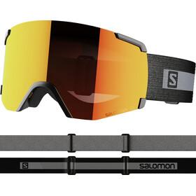 Salomon S/View Goggles black brand/mid red